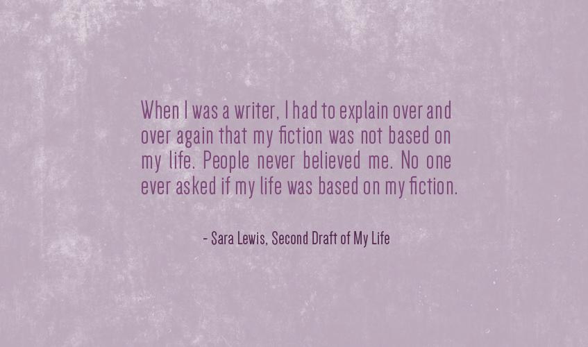 Sara Lewis Quote