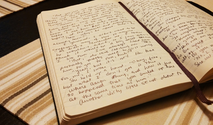 A Writing Journal, photo by Sarah Reck