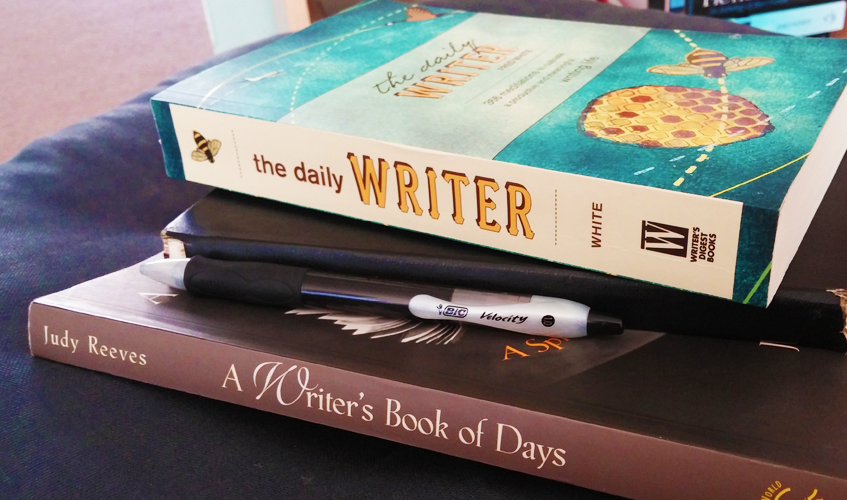 Writing Prompts Books, Photo by Sarah Reck
