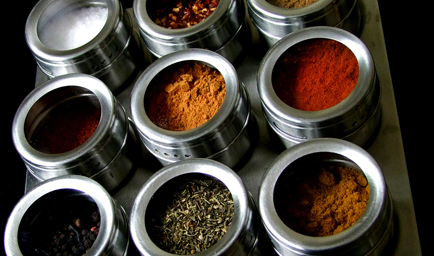 Spice Rack, by Mags_cat / flickr