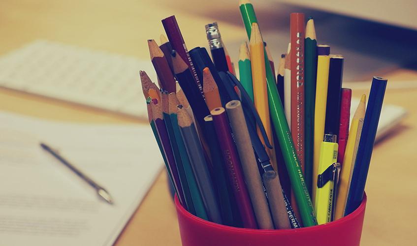 Colored Pencils by Martin Vorel