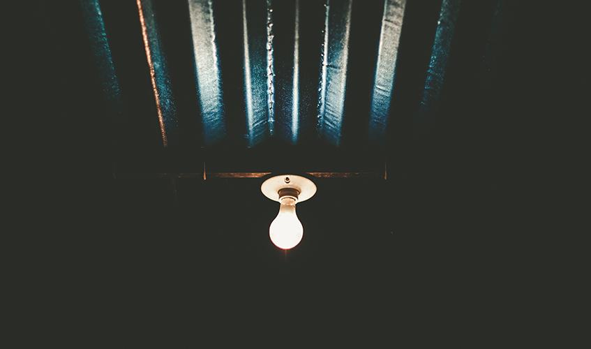 Light bulb, Cesar Quintero