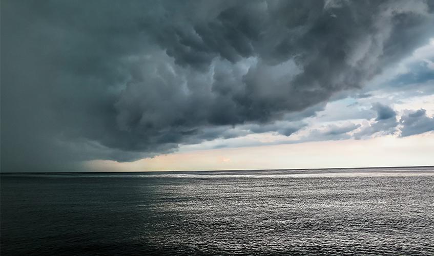 Stormy Ocean, Hanna Bergblau